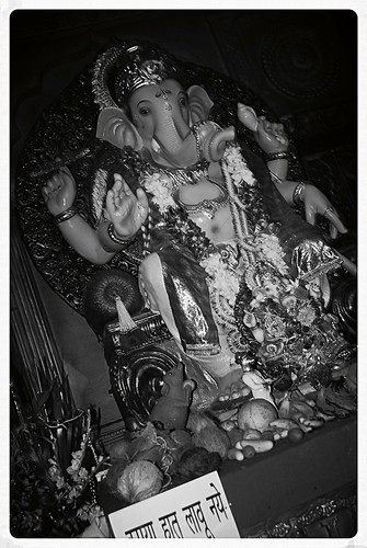 Lord Ganesha Shot By Marziya Shakir 3 And a Half Year Old by firoze shakir photographerno1