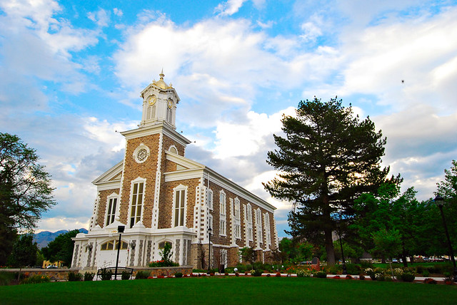 LDS Tabernacle in Logan, Utah 1