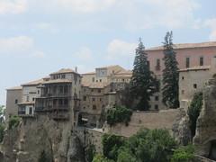 Cuenca Overhanging Houses