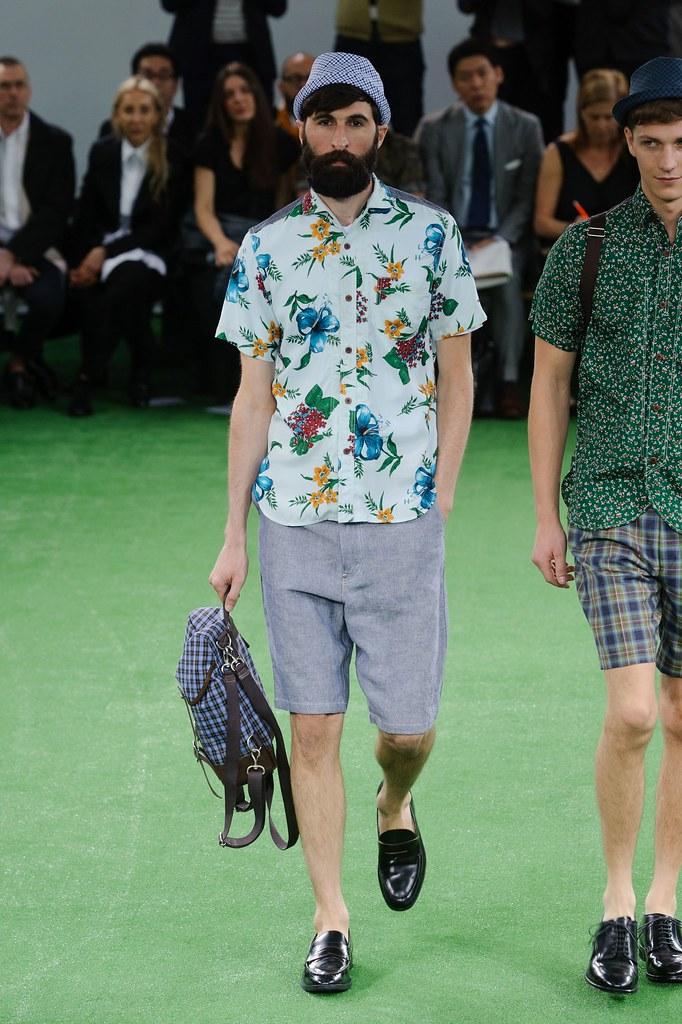 SS14 Paris Junya Watanabe042_Benjamin Dukhan(fashionising.com)