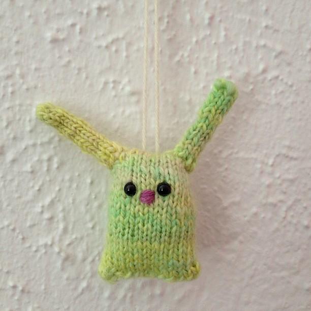 Handspun bunny #getitdone2013