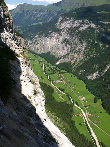 Via Ferrata Murren Switzerland