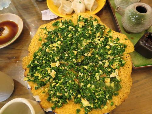 Beijing corn pancake