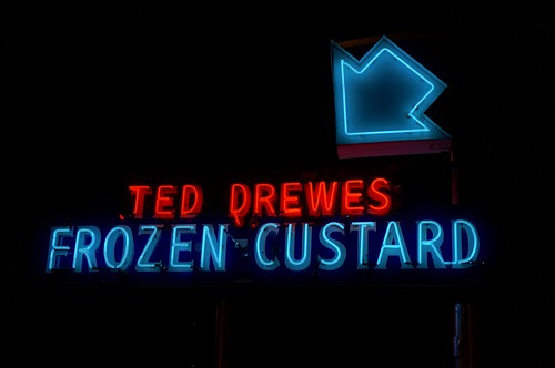 Ted Drewes Frozen Custard - Route 66, St. Louis, Missouri