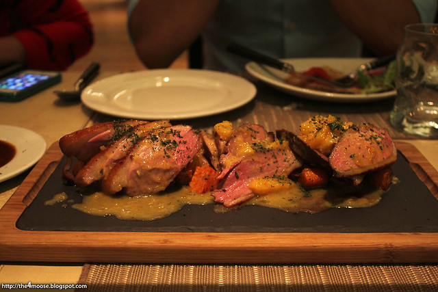 10 at Claymore - Duck Breast with Citrus Honey Glaze