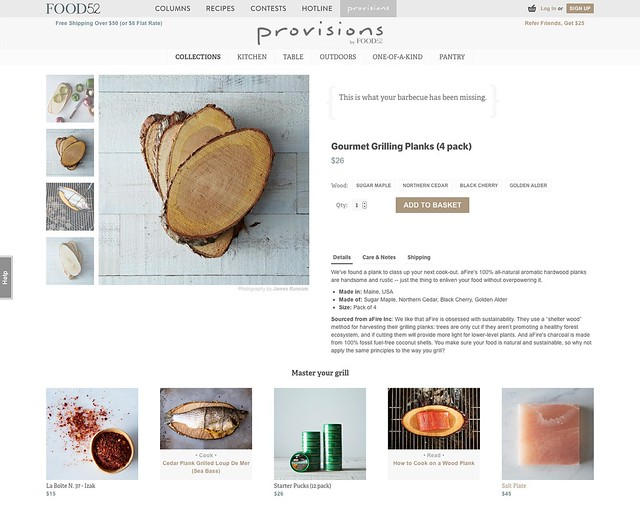 Provisions products from Food52