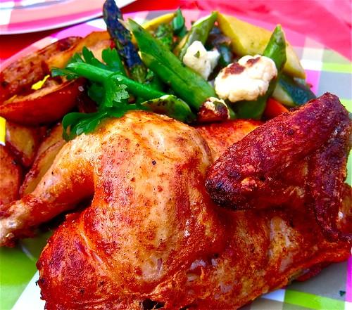 rotisserie half-chicken