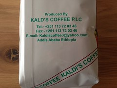 Coffee from Ethiopia!
