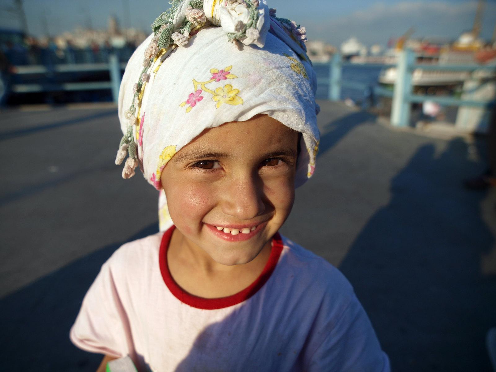 Portraits d'Istanbul - le petit soleil d'Istanbul