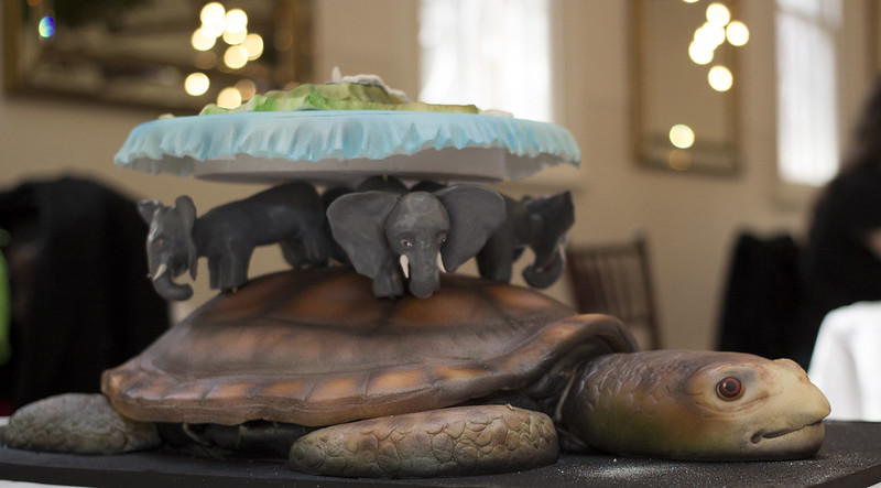 Terry Pratchett's Discworld Cake