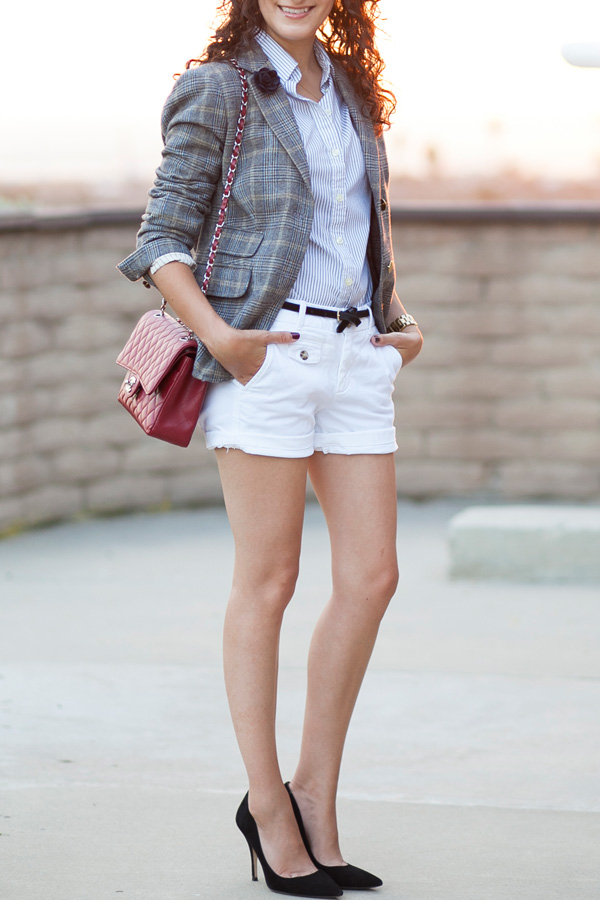 J.Crew English Tweed Blazer