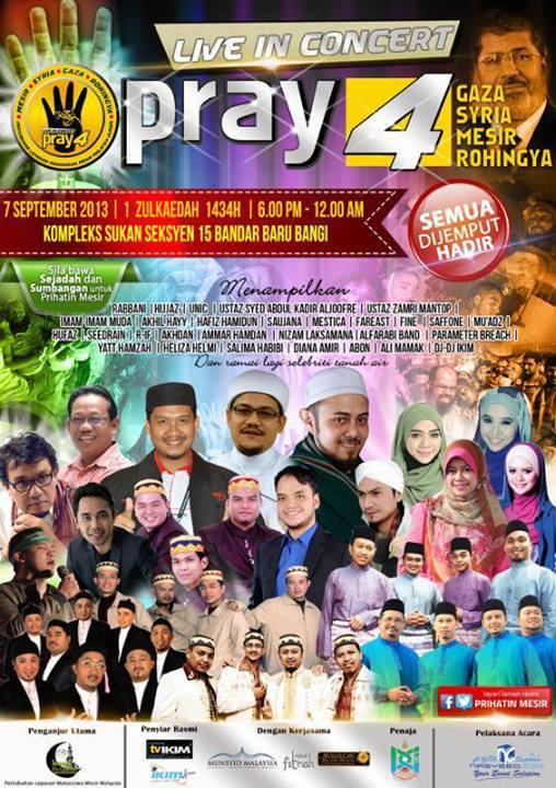 Poster Pray4