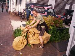 wicker motorcycle