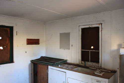 Thorn Meadow Guard Station Interior, Summer 2013