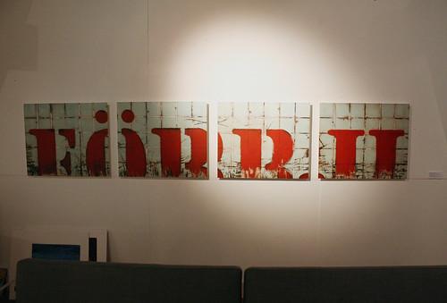 Tracey Sweeney – Förbjudet Installation