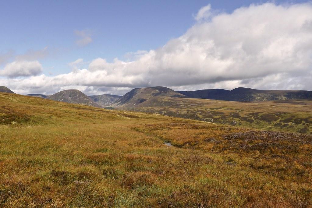 The hills above Loch an Duin