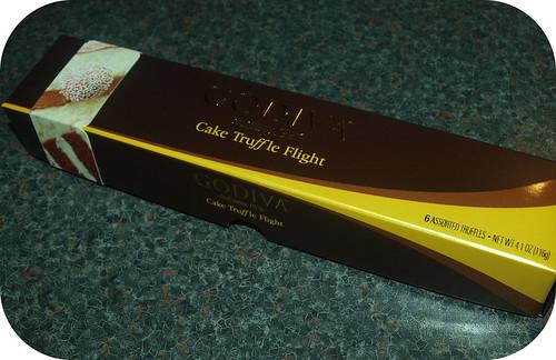Godiva Cake Truffle Flight