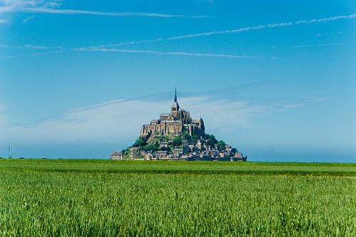 saint landscape day normandie michel paysage normandy mont montsaintmichel pwpartlycloudy
