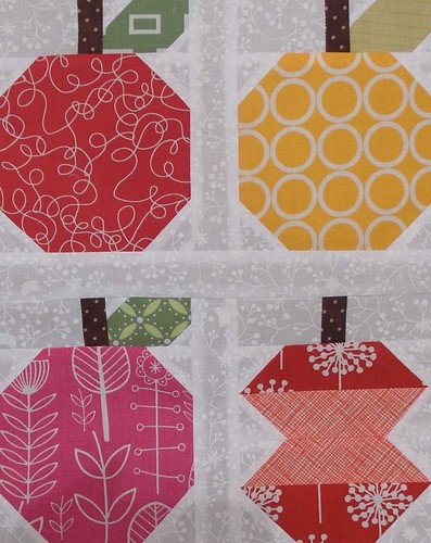 Quilty Fun Sampler - apples