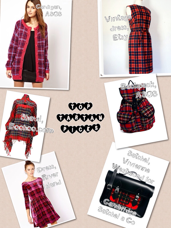 Jenna's Must Have Tartan Pieces (Guest Post)