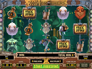 free Boom Brothers free spins
