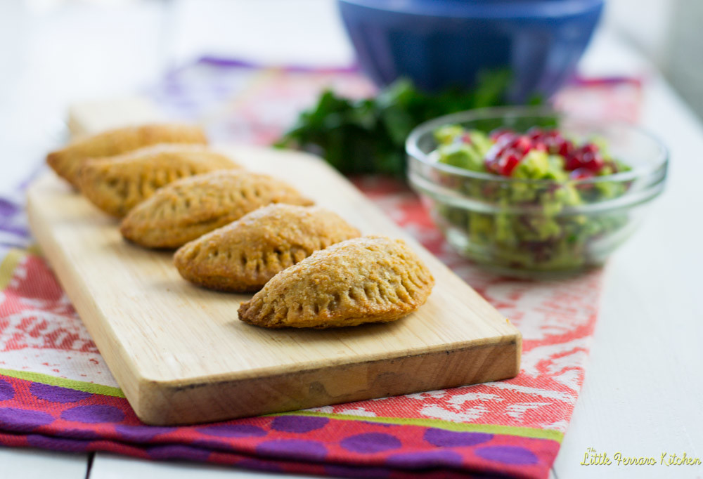 Baked Beef Empanadas + 2 Dips via LittleFerraroKitchen.com