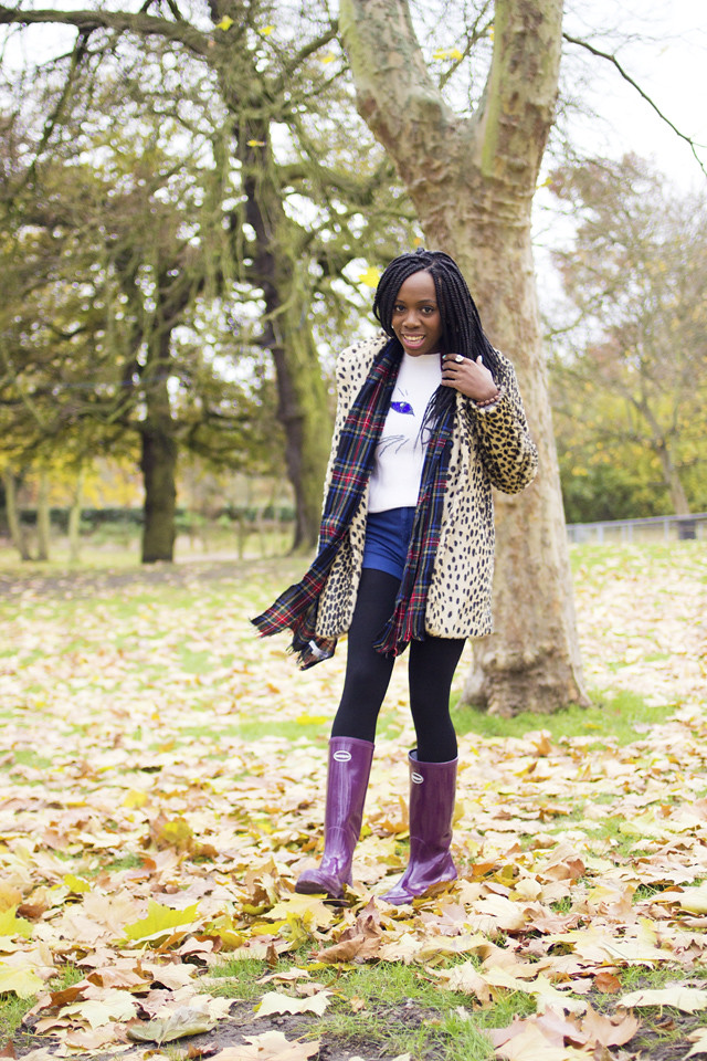 how to style wellington boots