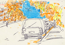 NOvember 2013: Memory Drawings