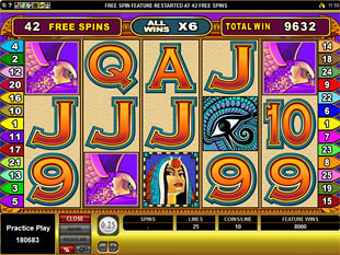 Isis Free Spins
