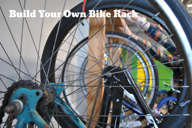 how to build your own bike stand