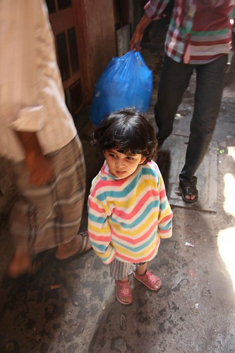 Shooting The Bandra Slums - Nerjis Asif Shakir 2 Year Old by firoze shakir photographerno1