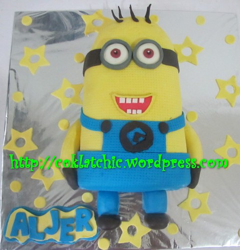 Kue ulang tahun minion aljer jual kue ulang tahun