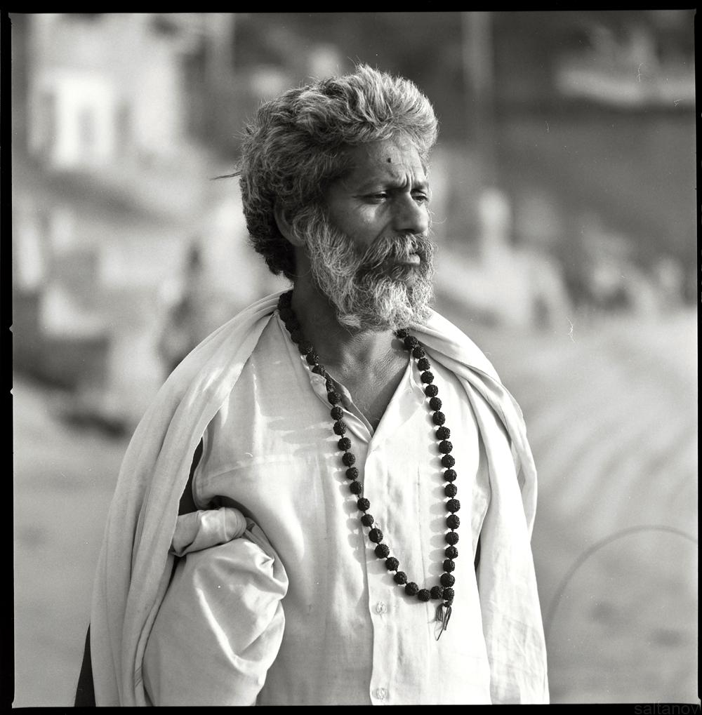 Varanasi sadhu.