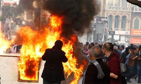 Egyptian clashes on third anniversary of uprising. Many were killed in the distrubances. by Pan-African News Wire File Photos