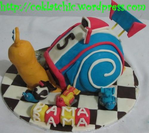 Terbuat dari kue yang dipahat,no styrofoam. Pelapis terbuat dari ...