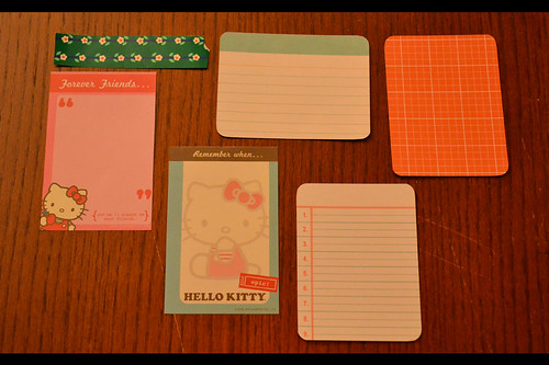 Hello Kitty Cards - back