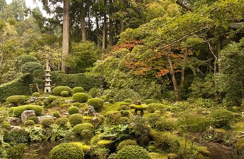 Japanese garden at Ohara