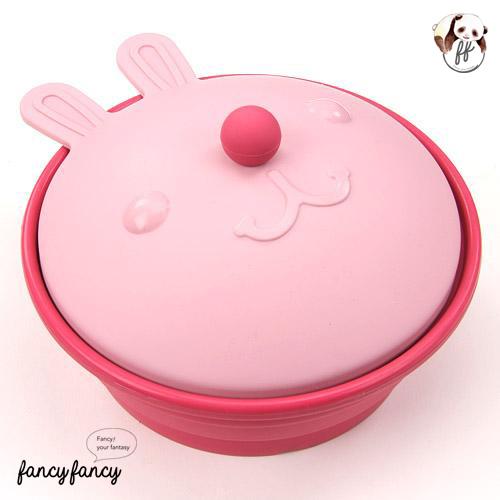 51.紅鼻子小丑粉紅兔小蒸籠