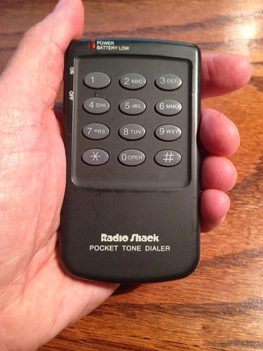 Radio Shack Pocket Tone Dialer (Front)