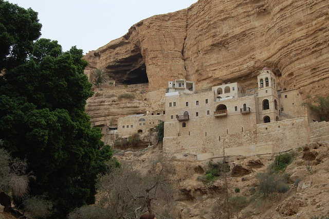 Wadi Qelt, Saint George's Monastery