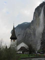 20130501 10 1098 Jakobus Lauterbrunnen Wasserfall Kirche