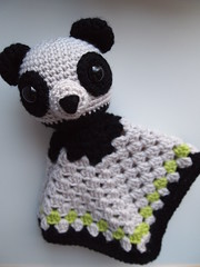 Panda Bear Security Blanket