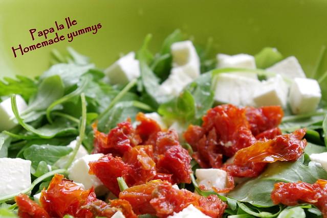 Salata cu somon afumat (2)