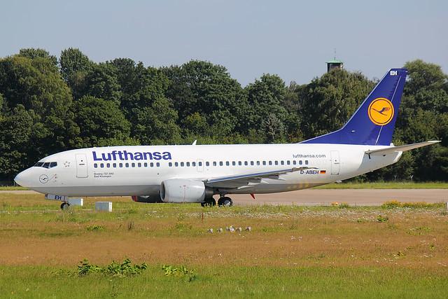 Lufthansa - B733 - D-ABEH (1)