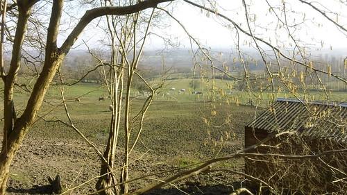 Greensand Way walk near Sevenoaks