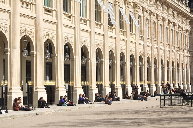 Spring at Palais Royal