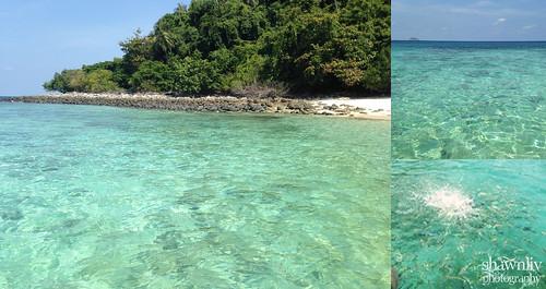 Coral ISland Tioman Crystal clear