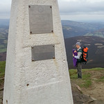 At the summit of the Sugar Loaf