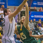 2014-03-10 -- NCAA men's basketball vs. St. Norbert