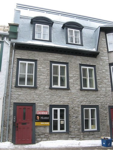 Typical House in Vieux Québec